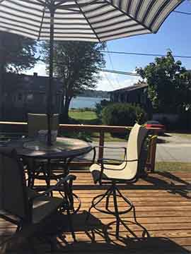 Warren, Rhode Island - Come to relax - Water view cottage ... on Warrens Outdoor Living id=63292
